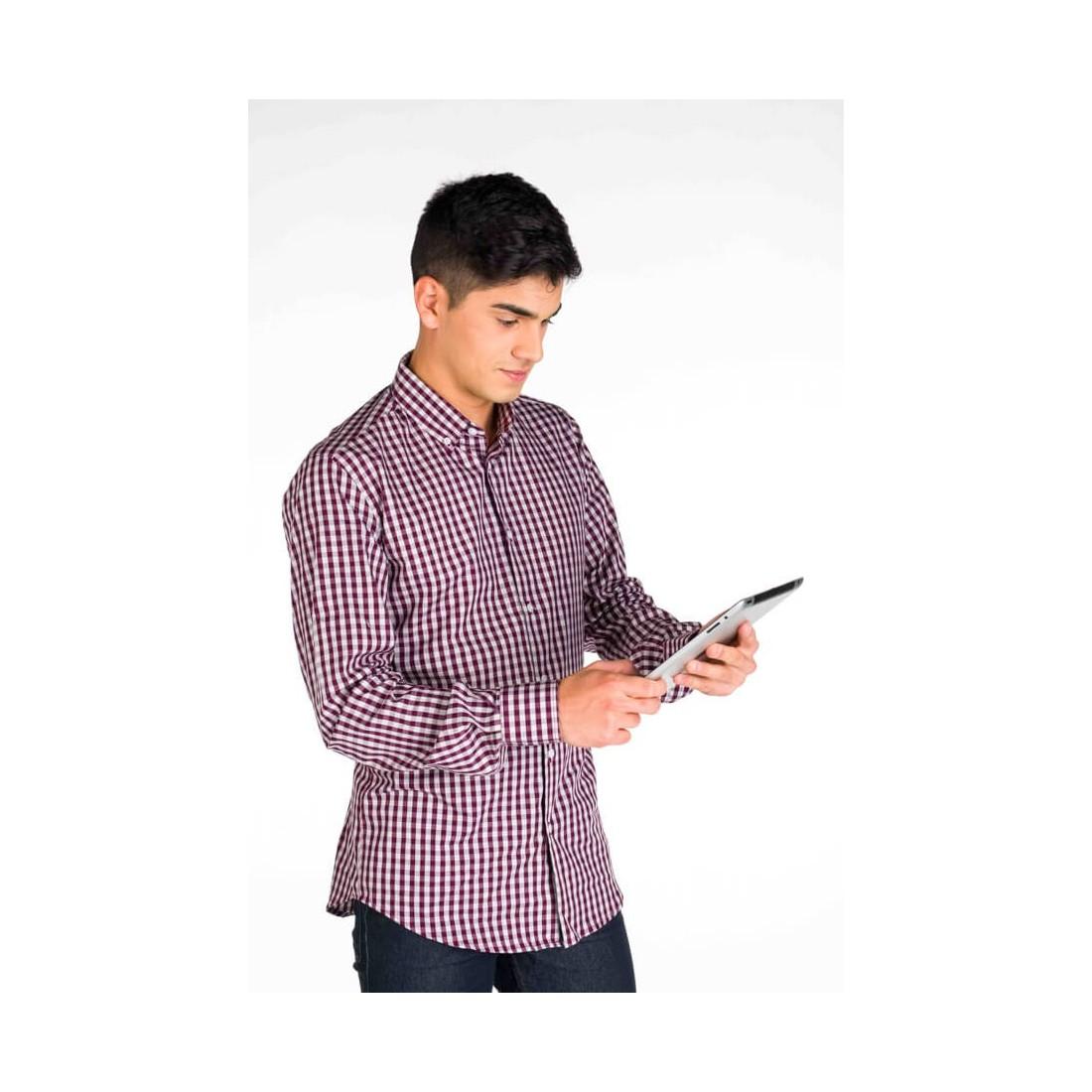 Camisa de trabajo para hombre modelo Marco