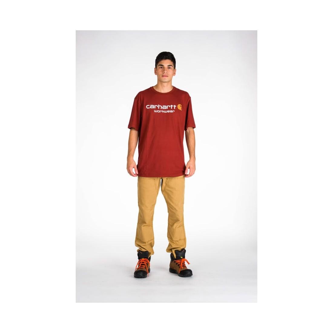 Camiseta manga corta core logo Carhartt