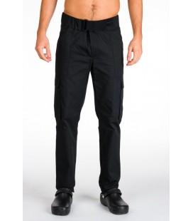 Pantalón negro unisex Giblor's Igor