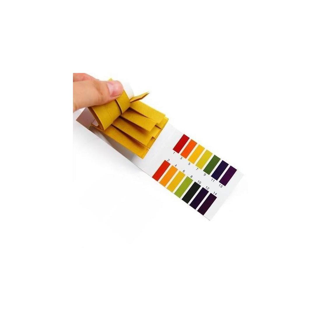 Papel de pH 1-14