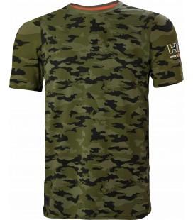 Camiseta militar manga corta Helly Hansen