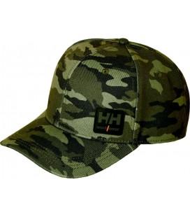 Gorra con estampado camuflaje