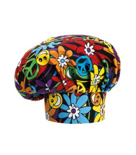 Gorro de cheff Peace and love