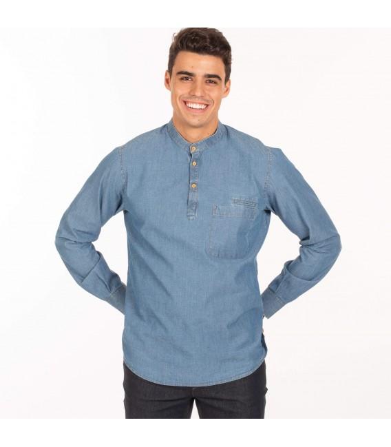 Camisa tejana de trabajo para caballero