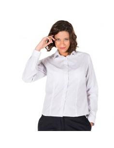 Camisa punteada para mujer...