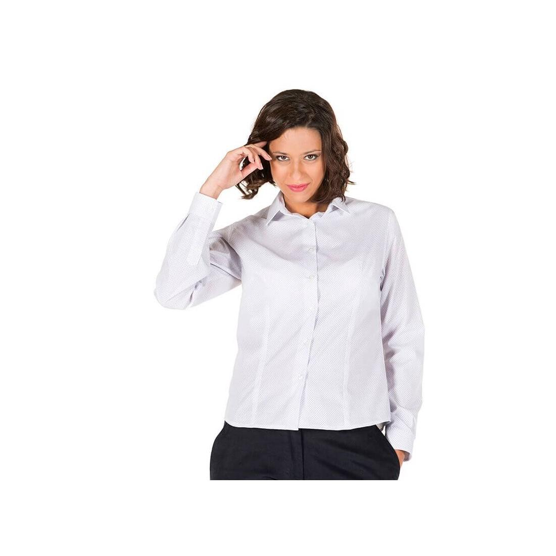"""Camisa punteada para mujer """"Escola..."""