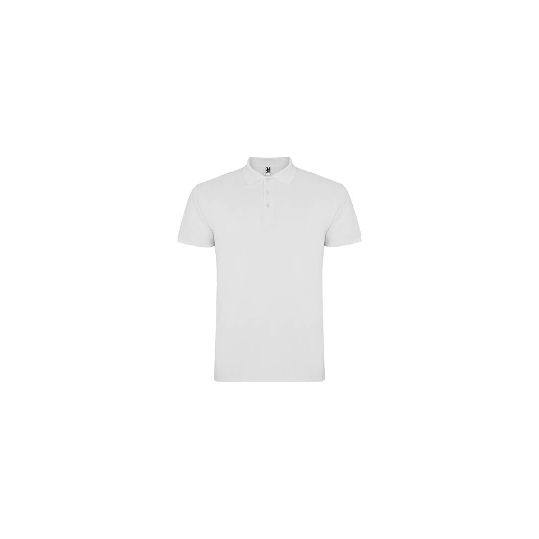 Polo blanco de manga corta