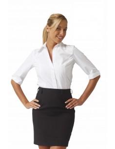 Camisa camarera manga larga MARIA