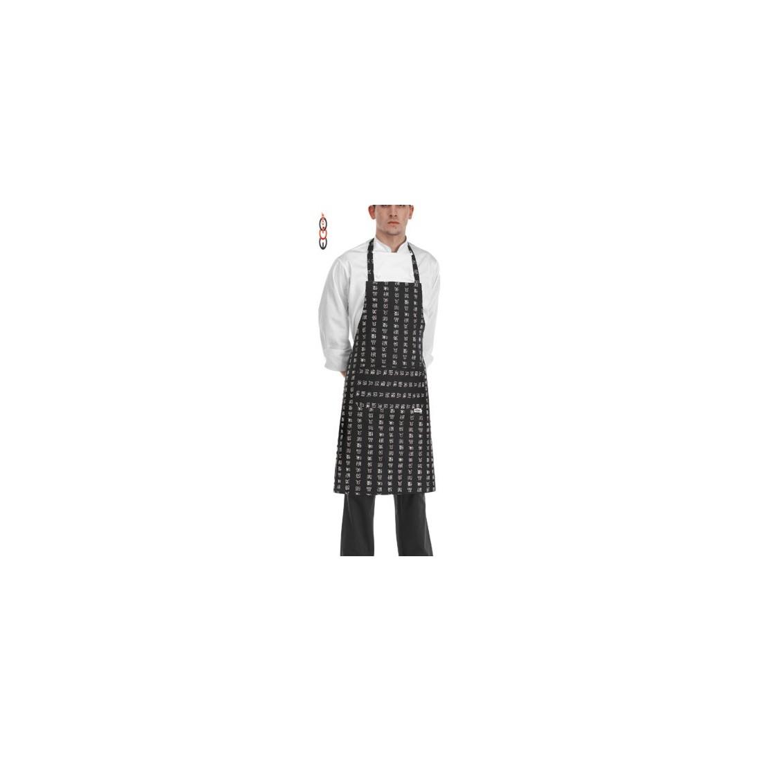 Delantal cocina peto modelo Chen-da