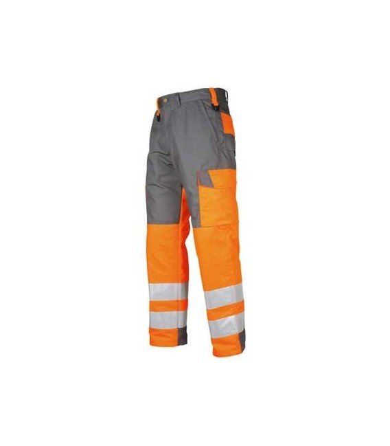 Pantalón trabajo alta visibilidad mod. 6501