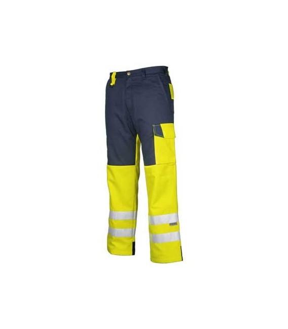 Pantalón de trabajo de alta visibilidad acolchado PROJOB 6508