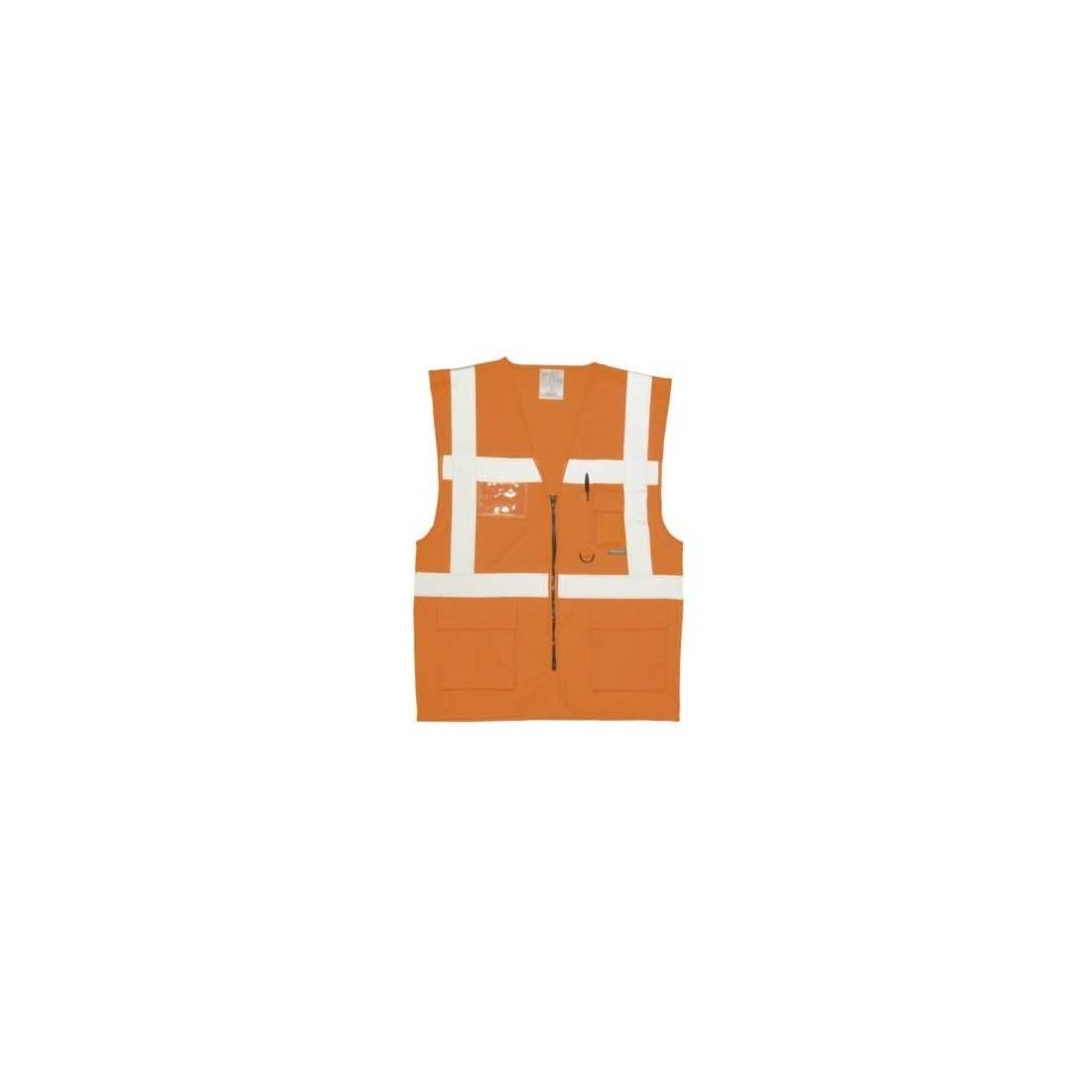 Chaleco executive malla alta visibilidad  s 476