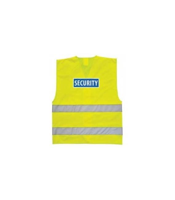 Chaleco SECURITY malla alta visibilidad C404