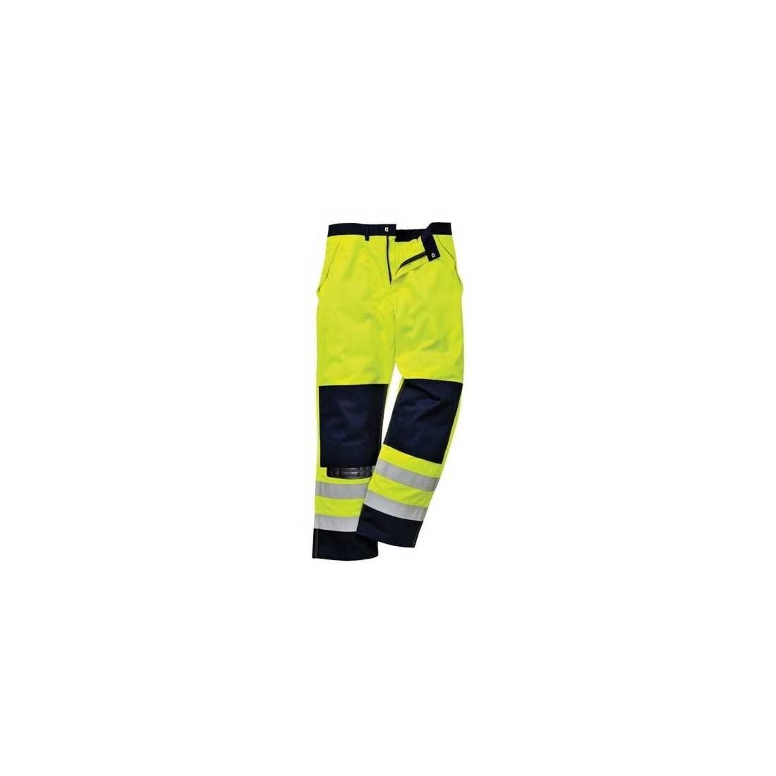 Pantalon FR62 protección contra riesgos químicos