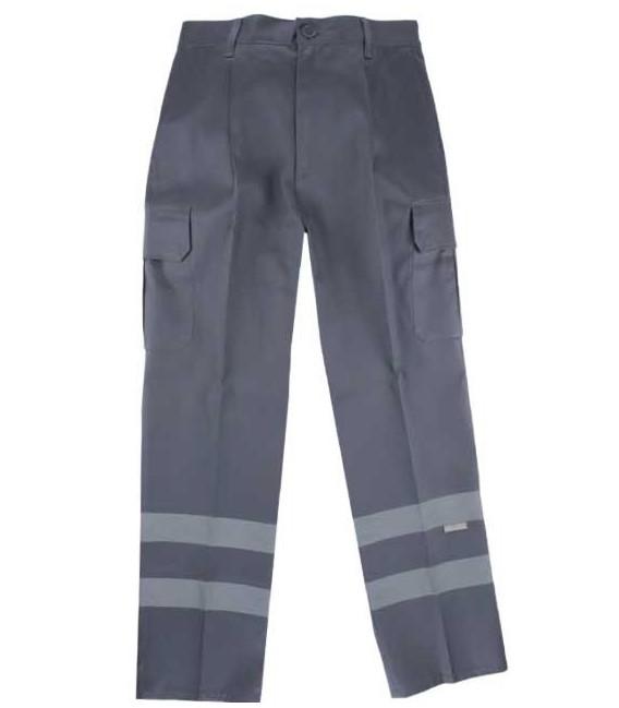 Pantalón multibolsillos alta visibilidad 159