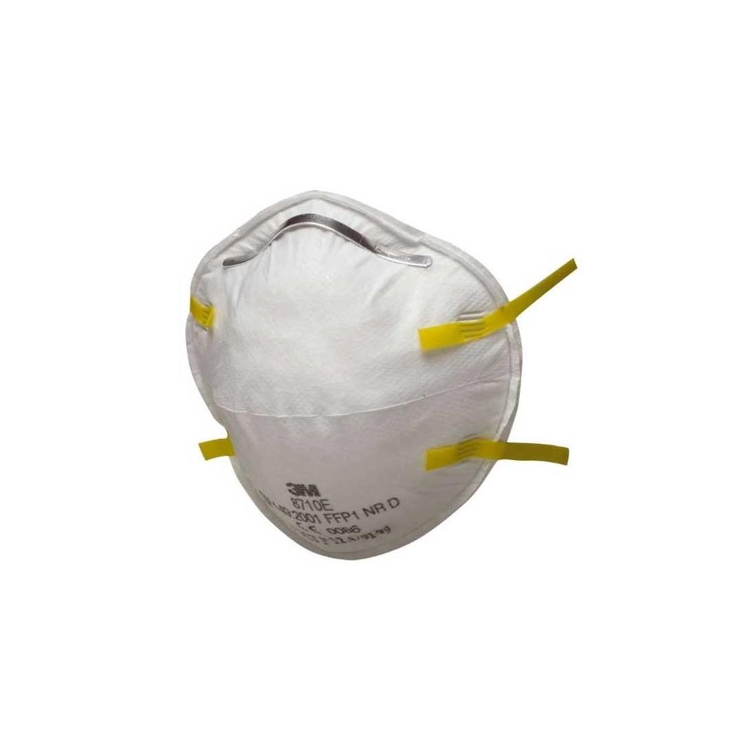 Mascarilla 3M 8710 FFP1 para protección respiratoria. Caja 20u.