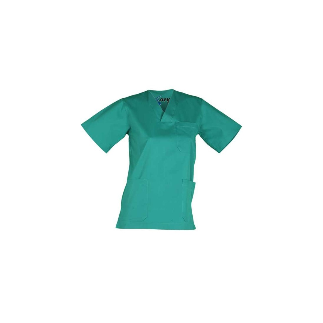 Casaca sanitaria colores manga corta unisex. Ref 603