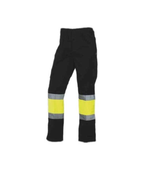 Pantalón trabajo alta visibilidad combinado